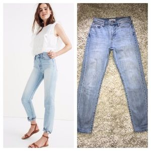 MADEWELL Perfect Summer Vintage Jeans Fitzgerald